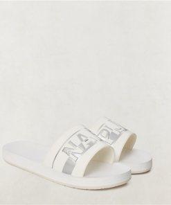 Papuci Ariel Alb