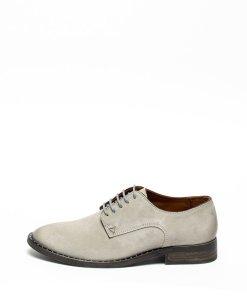 Pantofi derby de piele intoarsa