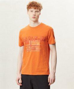 Tricou Sawy Amber Orange