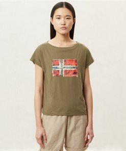 Tricou Seithem W New Olive Green