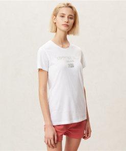 Tricou Sonthe W Bright White