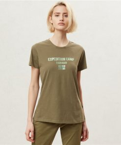 Tricou Sonthe W New Olive Green