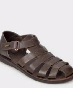 Sandale OTTER maro, 17455, din piele naturala