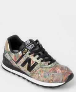 Pantofi sport NEW BALANCE multiciolori, Wl574, din piele ecologica