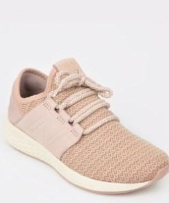 Pantofi sport NEW BALANCE roz, Wcruz, din material textil