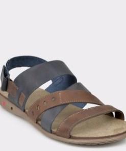 Sandale OTTER bleumarin, 18103, din piele naturala