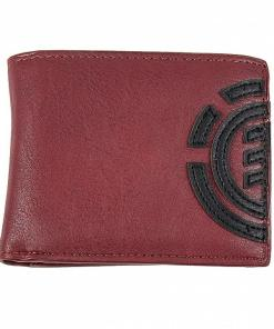 Portofel Daily Wallet oxblood red