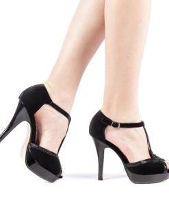 Sandale dama Grimila negre