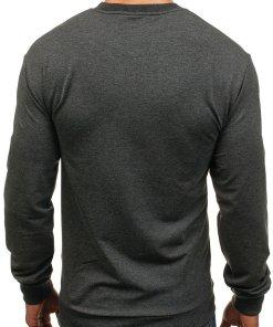 Bluza barbati gri-antracit Bolf 0385