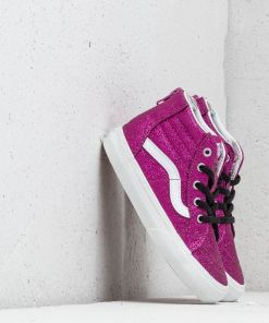 SK8-Hi Zip (Glitter) Wild Aster/ True White