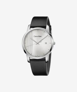 Calvin Klein City Ceas pentru Bărbați - 59549 - culoarea Negru Argintiu