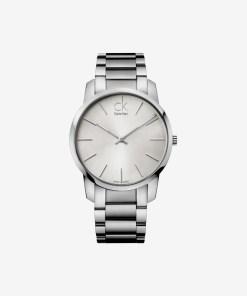 Calvin Klein City Ceas pentru Bărbați - 59590 - culoarea Argintiu