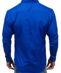 Camasa pentru barbat cu maneca lunga cobalt Bolf 5702