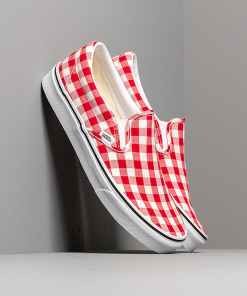 Vans Classic Slip-On (Gingham) Racing Red/ True