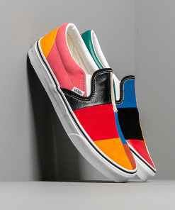 Vans Classic Slip-On (Patchwork) Multi/ True Wh