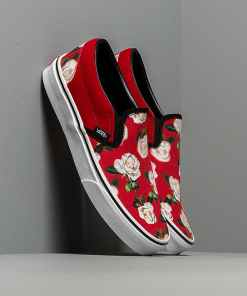 Vans Classic Slip-On (Romantic Floral) Chili Pepper