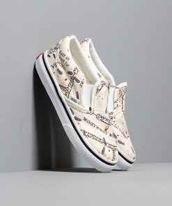 Vans x Harry Potter Classic Slip-On Marauder's Map/ White
