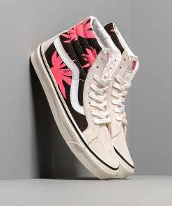 Vans Sk8-Hi 38 Dx (Anaheim Factory) Beige/ Black/ Red Leaves
