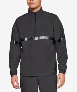 Under Armour Sportstyle Woven Jachetă pentru Bărbați - 76349 - culoarea Negru Gri