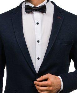 Papion elegant pentru barbat negru Bolf M001