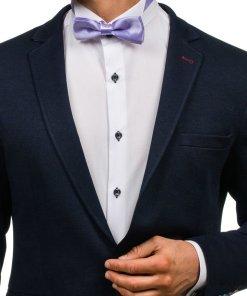 Papion elegant pentru barbat violet Bolf M001