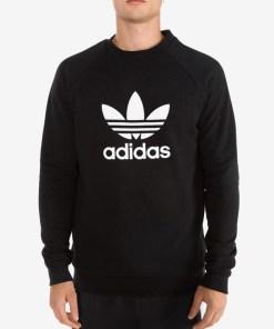 adidas Originals Trefoil Warm-Up Hanorac pentru Bărbați - 81252 - culoarea Negru