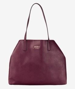 Guess - Vikky Large Genți pentru Femei - 81499 - culoarea Roșu Violet