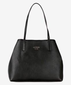Guess - Vikky Medium Genți pentru Femei - 81500 - culoarea Negru