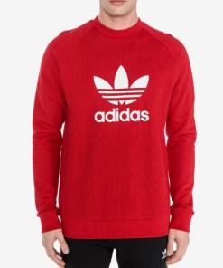 adidas Originals Trefoil Hanorac pentru Bărbați - 81249 - culoarea Roșu