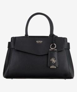 Guess - Colette Genți pentru Femei - 83653 - culoarea Negru