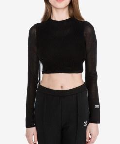 adidas Originals - Crop Top pentru Femei - 83982 - culoarea Negru