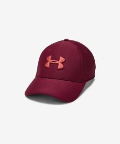 Under Armour Blitzing 3.0 Șapcă de baseball pentru Bărbați - 76492 - culoarea Roșu Violet