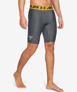 Under Armour Project Rock HeatGear® Armour Pantaloni scurți pentru Bărbați - 84512 - culoarea Gri