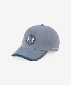 Under Armour Elevated Jordan Spieth Tour Șapcă de baseball pentru Bărbați - 82551 - culoarea Albastru