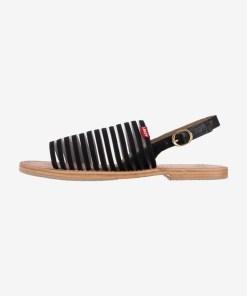 Levi's - Shastina Sandale pentru Femei - 84606 - culoarea Negru