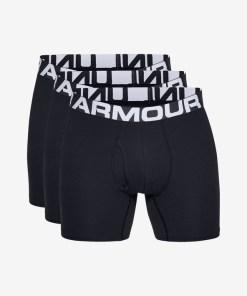 """Under Armour Charged Cotton® 6"""" Boxeri, 3 bucăți pentru Bărbați - 82585 - culoarea Negru"""