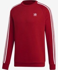 adidas Originals 3-stripes Hanorace pentru Bărbați - 86399 - culoarea Roșu