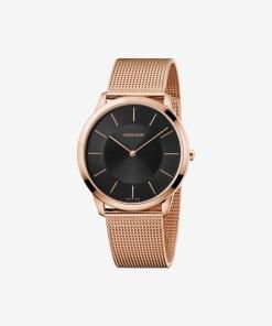 Calvin Klein Minimal Ceas pentru Bărbați - 89575 - culoarea Roz Auriu