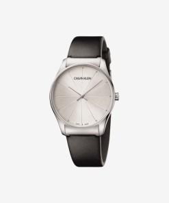 Calvin Klein Classic Too Ceas pentru Bărbați - 74506 - culoarea Negru Argintiu