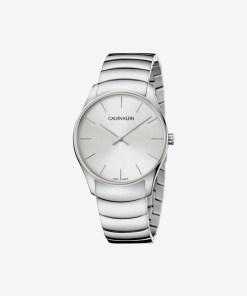 Calvin Klein Classic Too Ceas pentru Bărbați - 89605 - culoarea Argintiu