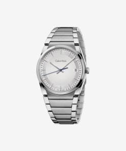 Calvin Klein Step Ceas pentru Bărbați - 89409 - culoarea Argintiu