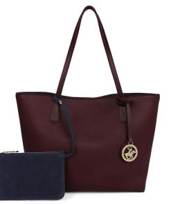 Geanta Sue Claret Red Dark BLue