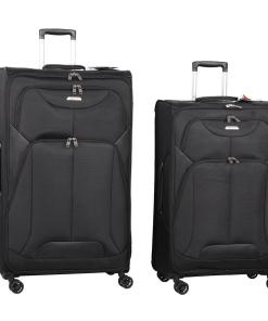 Set 2 trolere Kensington Black