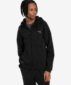 Puma BND Tech Hanorac pentru Bărbați - 92581 - culoarea Negru