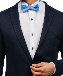 Papion elegant pentru barbat albastru-deschis Bolf M001