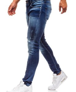Jeansi pentru barbat albastri Bolf 1801