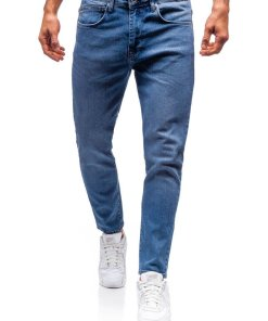 Jeansi pentru barbat albastri Bolf 7157