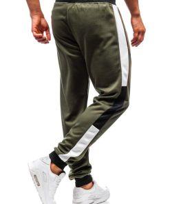 Pantaloni de trening barbati verzi Bolf 35003