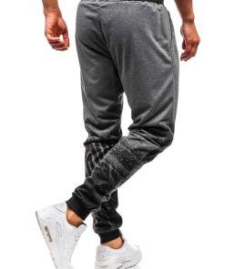 Pantaloni de trening barbati grafit Bolf 300129