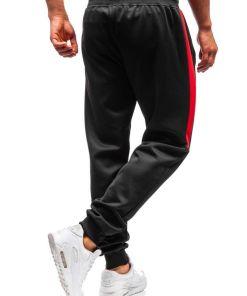 Pantaloni de trening barbati negri Bolf 99011